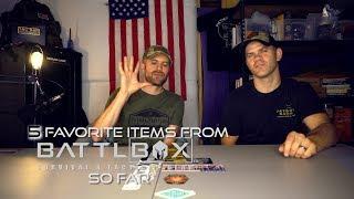 Our 5 Favorite Battlbox Items So Far