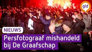 Media belaagd bij stadion van De Graafschap