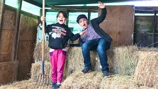 LIVING A DAY as a FARMER!