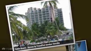 preview picture of video 'Cable Beach - Nassau, New Providence Island, Bahamas'