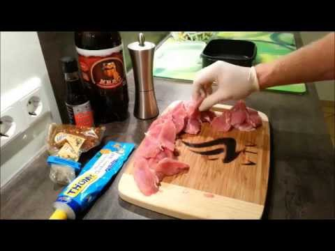 Fleisch Chips Pork Chips Anleitung Rezept Dörrfleisch Trockenfleisch