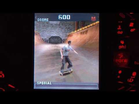 Tony Hawk's Pro Skater - N-Gage - Gameplay