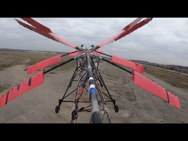 Российские инженеры создали орнитоптер – летательный аппарат, похожий на стрекозу