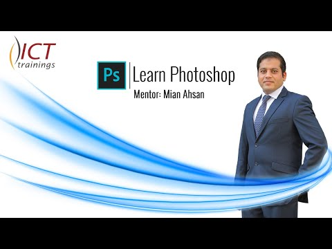 Use Gradient Tool to Merge 2 Images | Adobe Photoshop Tutorial | Photoshop Tips & Tricks