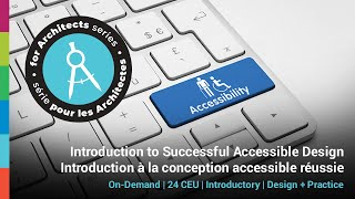 RAIC – Introduction to Successful Accessibility Design