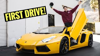 Taking Delivery of MY Lamborghini Aventador!