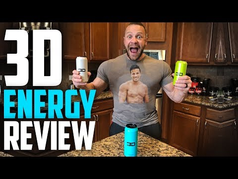 3D Energy Drink by Christian Guzman Honest Review | Tiger Fitness