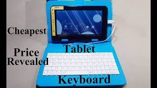 Cheapest Tablet And Keyboard Review   Full Explained