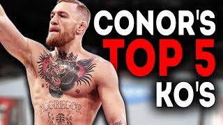 Conor McGregor\'s Best Knockouts