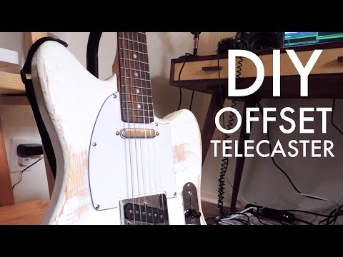 Building A Guitar: Offset Telecaster, DIY | Modern Builds | EP. 64