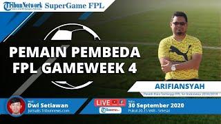 SUPER GAME: Pemain Pembeda FPL Gameweek 4 Bersama Peraih Poin Tertinggi FPL 2018/2019 Arifiansyah