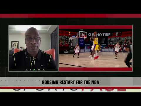 [Sport5]  Defense inside the NBA bubble