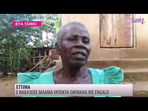 E Nakaseke maama yayokya omwana we engalo