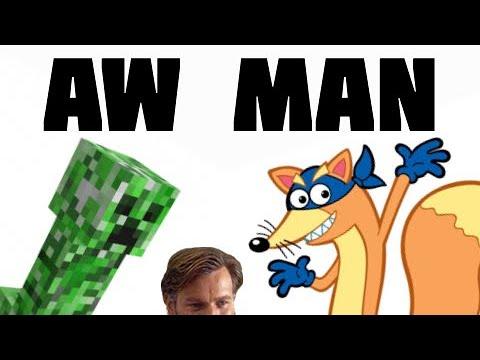 Swiper? Oh Man (Creeper Aw Man Parody)