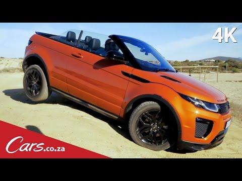 Can a Range Rover Evoque Convertible Handle Itself Off-Road