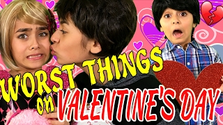 Valentines Day - 10 Worst Things : RELATABLE // GEM Sisters