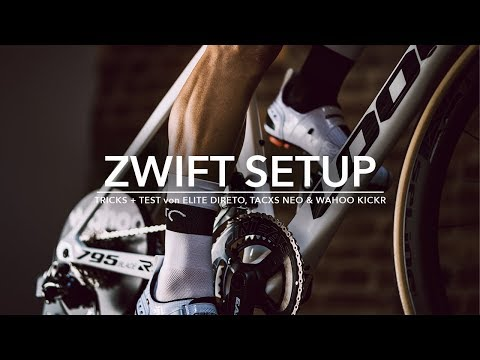 ZWIFT SETUP & TRICKS + TEST von ELITE DIRETO, TACXS NEO & WAHOO KICKR