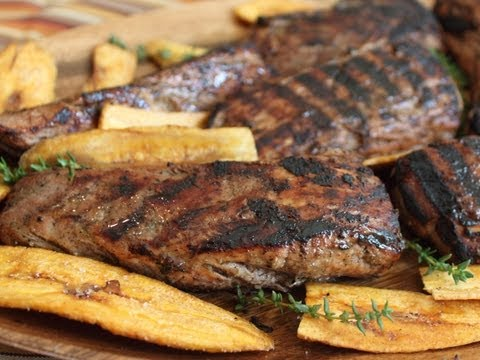 Grilled Jerk Pork Tenderloin – Jerk Spice Grilled Pork Recipe