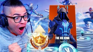 *UNLOCKING* MAX TIERS IN THE NEW SEASON 7 BATTLE PASS! INSANE LVL 100 SKIN IN FORTNITE BATTLE ROYALE