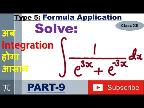 Integration Type 5 : Formula Application : Part 9