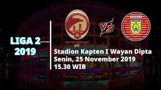 VIDEO: Live Streaming Perebutan Tempat Ketiga Liga 2, Sriwijaya FC Vs Persiraja Senin (25/11)