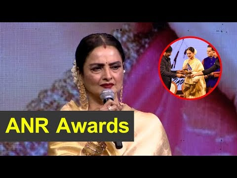 actress-rekha-about-her-award-and-speech
