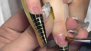 ПОСТАНОВКА ФОРМ / наращивание ногтей гелем за 1,5 часа