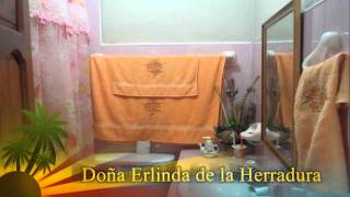 preview picture of video 'The Best Cuban beach Hostel or Room for rent. La Herradura: Rooms'