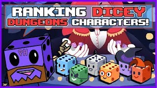 Ranking DICEY DUNGEONS Characters from Least Favorite to Favorite!