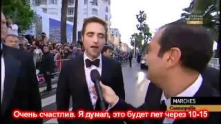 Космополис, Robert Pattinson - интервью на КД Космо (русские субтитры)