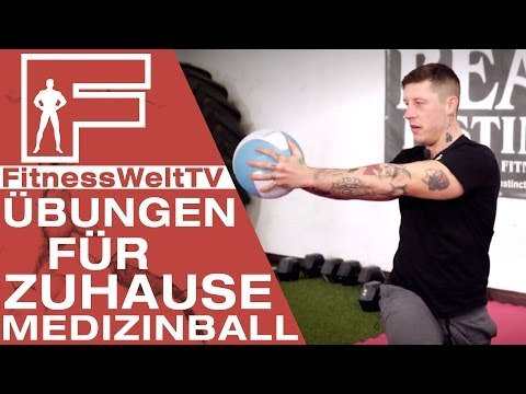 Training Zuhause: Medizinball #Jochen