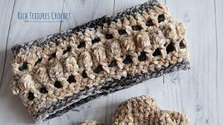 Velvet Crochet Headband Pattern