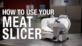 Buffalo: How to use your Meat Slicer