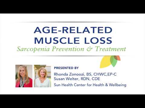 Lifestyle Interventions for Age Related Muscle Loss–Sarcopenia