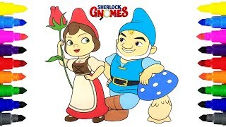 Sherlock Gnomes Coloring Pages For Kids