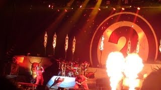 Slipknot Setlist Mayhem Festival July 3 2012 Setlist at White River Amph. Auburn,(Seattle) WA