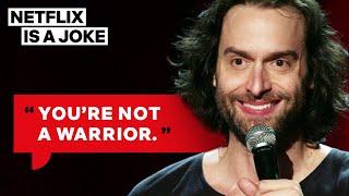 Chris DElia Hates Fitness Influencers   Netflix Is A Joke