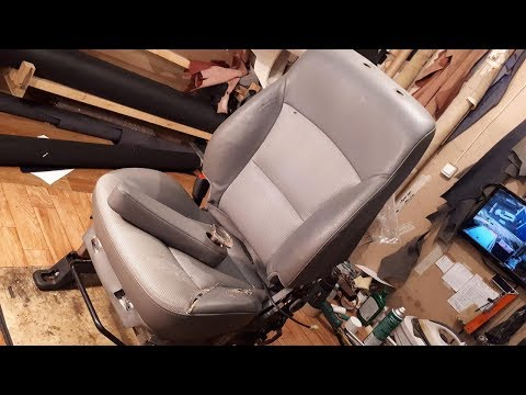 Hyundai Starex. Установка подлокотника и ремонт