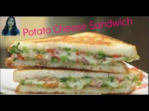 Potato Cheese Sandwich ll Veg Cheese Sandwich Recipe  ll Potato Sandwich