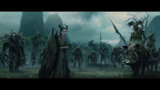 Maleficent: Wood Creature Scenes, plus a Greywind