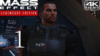 Mass Effect Legendary Edition  Walkthrough Gameplay With Mods 1  Prologue 4K 60FPS HDR Insanity
