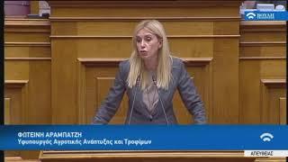 Τοποθέτηση σε Επίκαιρη Επερώτηση του ΣΥΡΙΖΑ