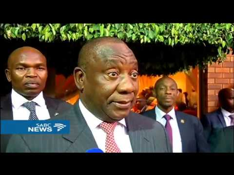 Ramaphosa attends Easter service at ZCC, Moria