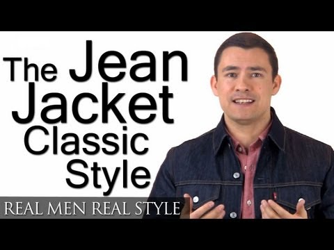 How To Buy A Jean Jacket | Man's Guide To Denim Jackets | Levis Trucker Jacket | Wrangler Denim Coat
