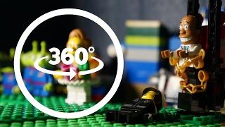 LEGO Edna Krabappel Loves These Kids VR 360 Part 4 Funny Stop Motion Animation