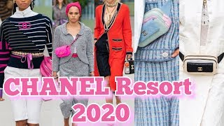 CHANEL Cruise 2020 ! CHANEL Resort 2020 Collection ! || Marta In_Vogue_UK
