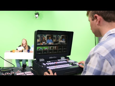 How To Do a Virtual Studio Production Using a Switcher?