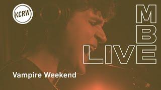 "Vampire Weekend performing Sunflower (""Stoneflower"" jam version) live on KCRW"