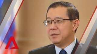 Malaysia Finance Minister Lim Guan Eng on Malaysia's hope fund; exposing financial scandals