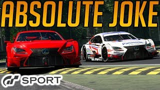 Gran Turismo Sport: Absolute Joke of a Race